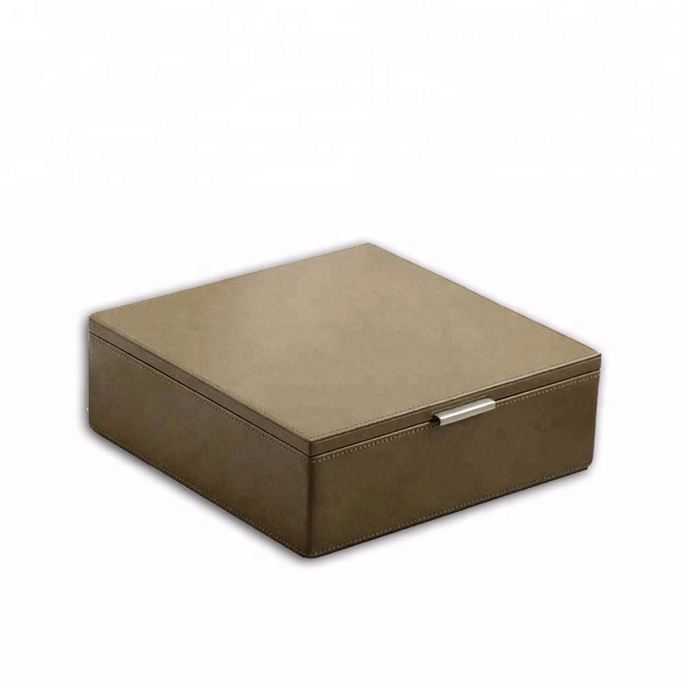 Factory Price Custom Wholesale Luxury Leather Tea Gift Box