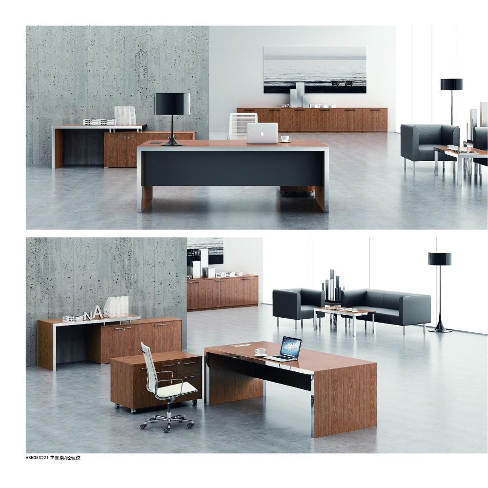 High End Luxury Ceo Office Furniture Modern Practical Solid Wood Executive De