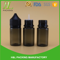 10ml 30ml plastic black dropper bottle black unicorn bottle for eliquid plastic bottle 30ml black pet
