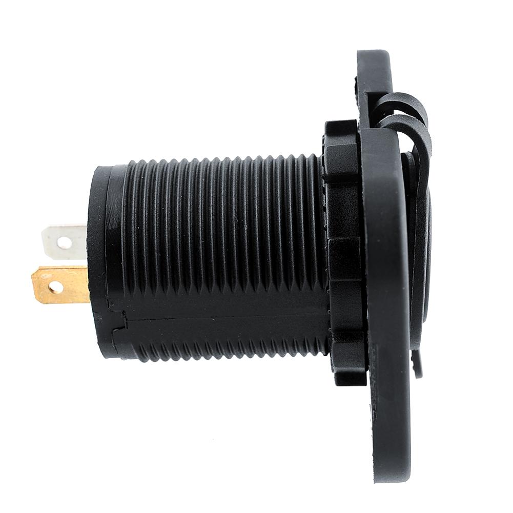 1 шт. 12 В двойной зарядное устройство USB мотоциклов автомобильного прикуривателя делитель мощности на выходе выход 5 В 1A / 2.1A