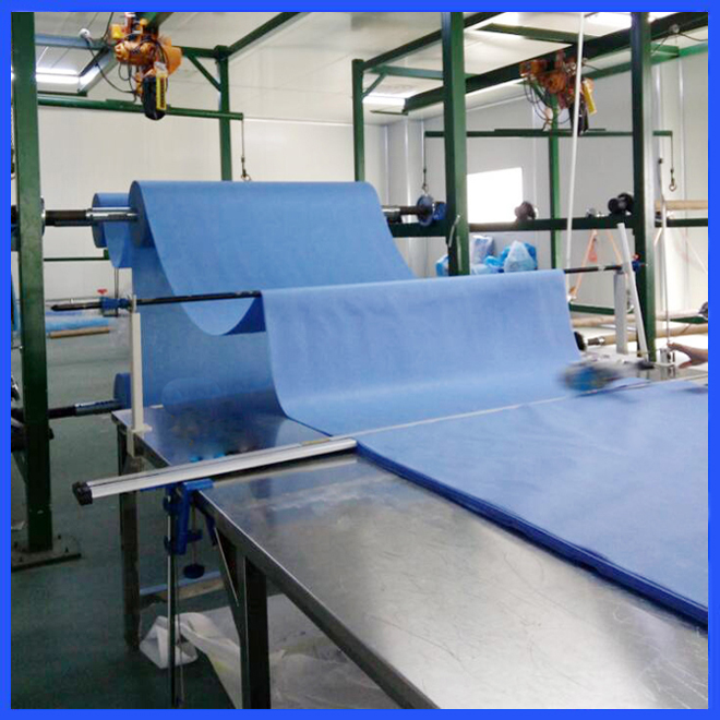 Sterile non woven disposable medical gown for hospital