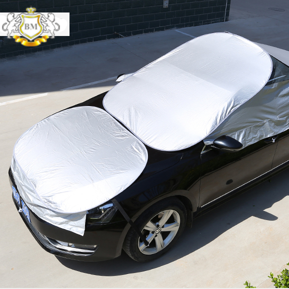 Hot sale sun shade & hail protection half car <strong>covers</strong>