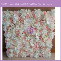 RH00260 baby blue hydrangea flowers backdrop, silk flower wall,popular wedding arrangement