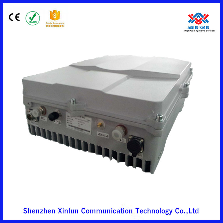 Master Unit and Slave Unit 380MHz 5W Coupling Directly Fiber Optical Broadband Repeater