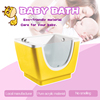 Baby Bathtub Side Glass Whirlpool Jets Spa Tub BB006