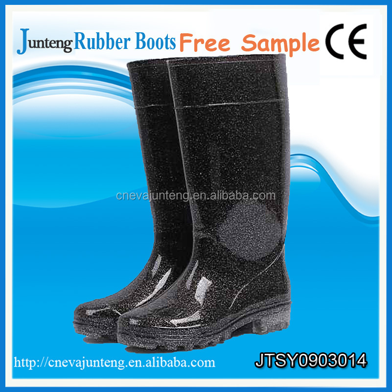 High quality durable waterproof rubber boots factory