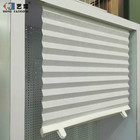Yilian Paper Blind Fabric Pleated Shutter Window Shade Customized Cordless Pleated Paper Blinds