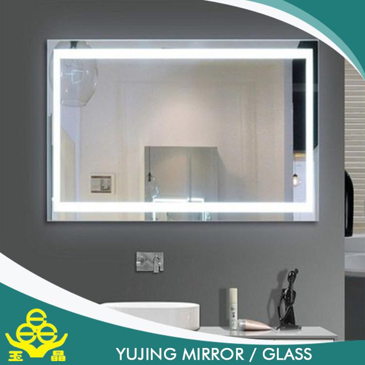 Wash Basin Mirror For Bathroom Lighted Makeup Mirror