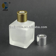 50ml square frosted aroma diffuser glass bottle
