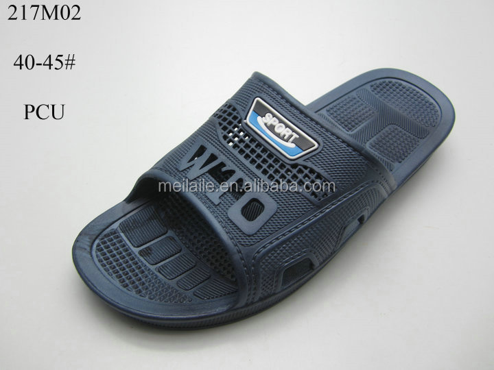 Summer New Slippers Men's Pcu Shoes