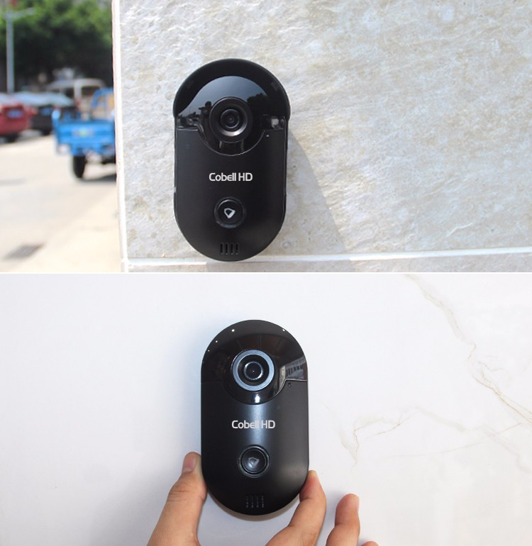 HD intercom system, smart home new products 720p wifi video doorbell
