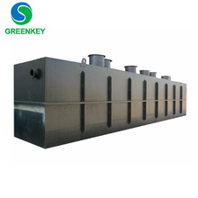 Economical compact sewage treatment plant for industrial and domestic wastewater treatment