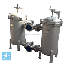 popular duplex stainless steel bag water filter housing for chemical industry