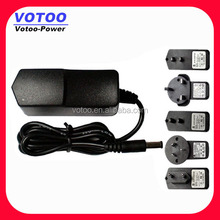 switching power adaptors 8.5v 1.4a,12v 1a,24v 0.5a,6v 2a,15v 0.8a,7.5v 1.5a,6v 1.8a,10v 1.2a,5v 2.4a 12w ac dc wall charger
