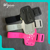 Press type custom phone cases phone accessories mobile armband cellphone
