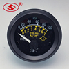52mm Oil Pressure Gauges Meter 0-7Bar 0-100PSI For Auto With Backlight 12V/24V