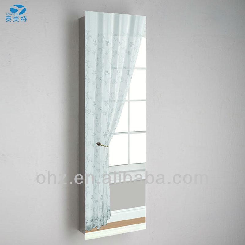 Slimline mirror cabinet for Slim mirrored bathroom cabinet