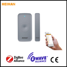 Smart zigbee door contact used for smart home security guard