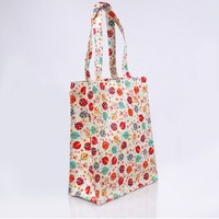 Luxury Printed Customer Cotton Shopping Bag Coated Shopping Bag