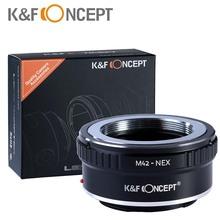 New 2015 K&F Concept M42-NEX M42 Lens Adapter Ring for Sony NEX E-mount NEX NEX3 NEX5n NEX5t A7 A6000 Camera Lens Adapters