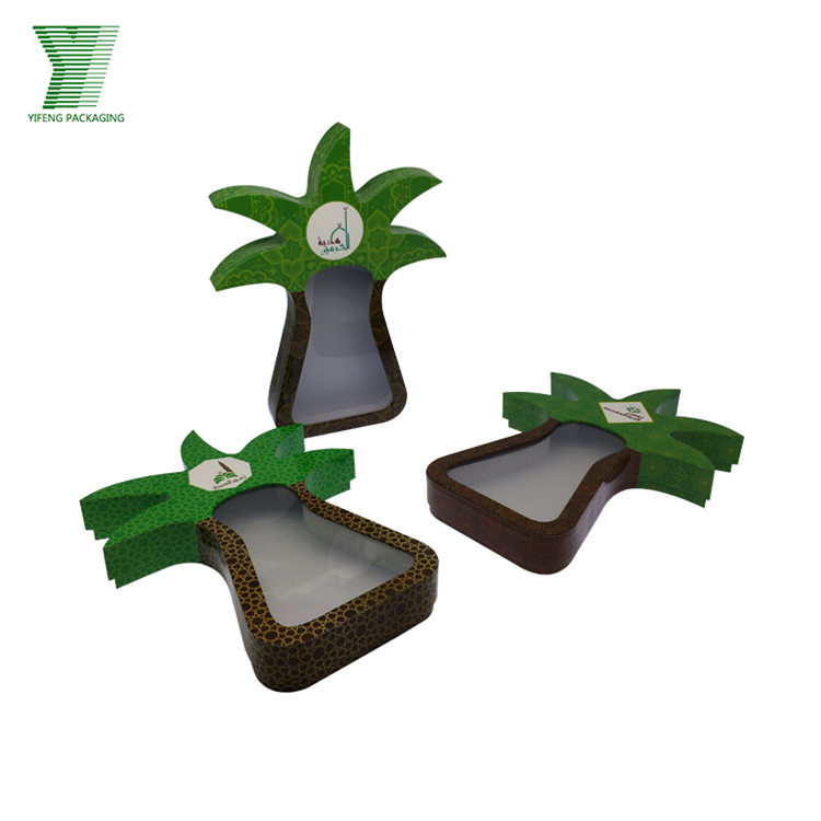 Craft Fancy Creative Handmade Packaging Custom Tree Shape Chocolate Gift Box