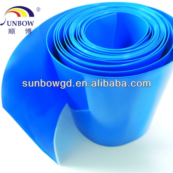 Colorful PVC heat shrinkable tubing