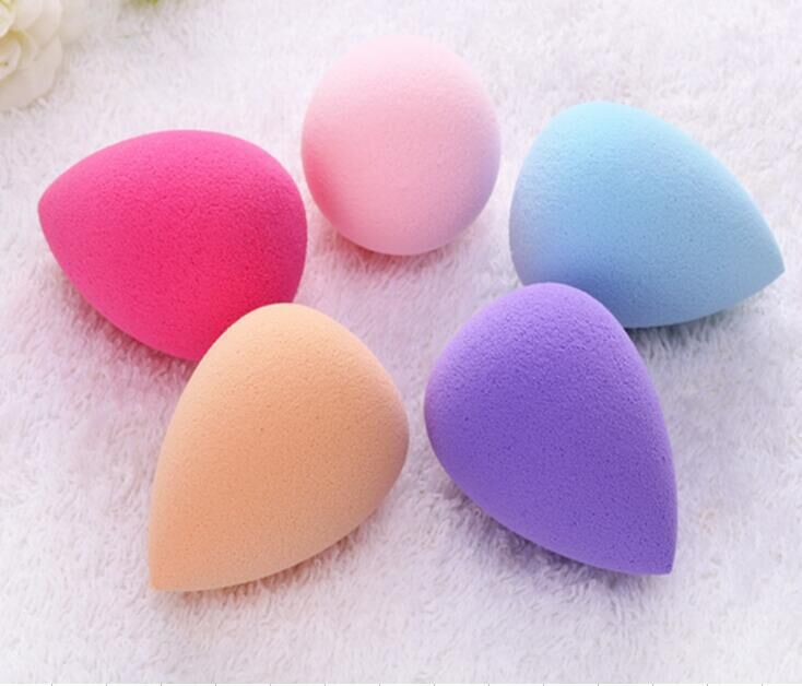 Custom Shape High Quality Latex Free Makeup Sponge Multi-Purpose Egg Foundation Powder Puff Sponge