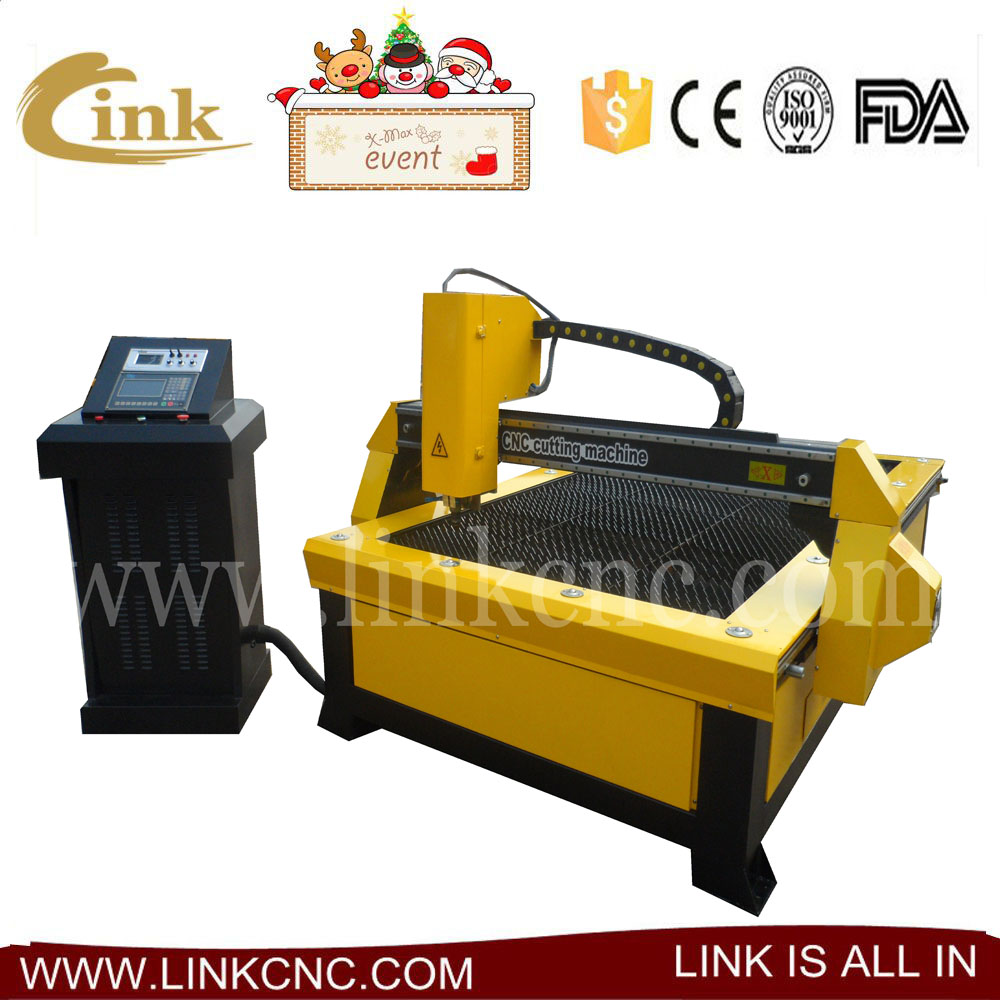 made in China cnc plasma cutting machine china/JINAN best brand LINK plasma/American Haibao 45A power supplier LXP2030