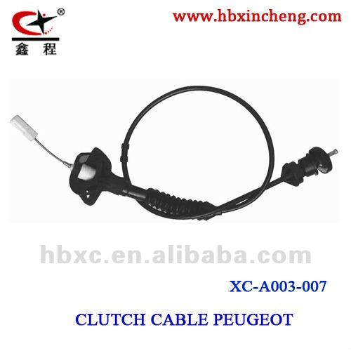 PEUGEOT clutch cable auto cable brake cable in hebei gear shift cable