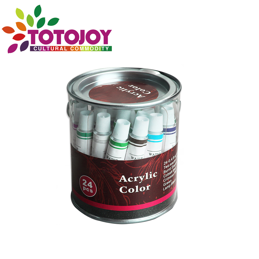 Good Quality 24 Colors Craft Smart Acrylic Paint L2ml