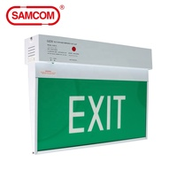 Hybrid IC Controlled Self-Contained Emergency Light 8W Hanging Exit Sign LED Board