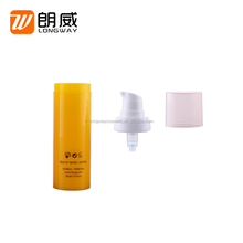 15ml Plastic Lotion Bottle Airless Cosmetic Pump Bottle Lotion Dispenser Pump Face Cream Lotion Pump 15ml/30ml/50ml China Supply