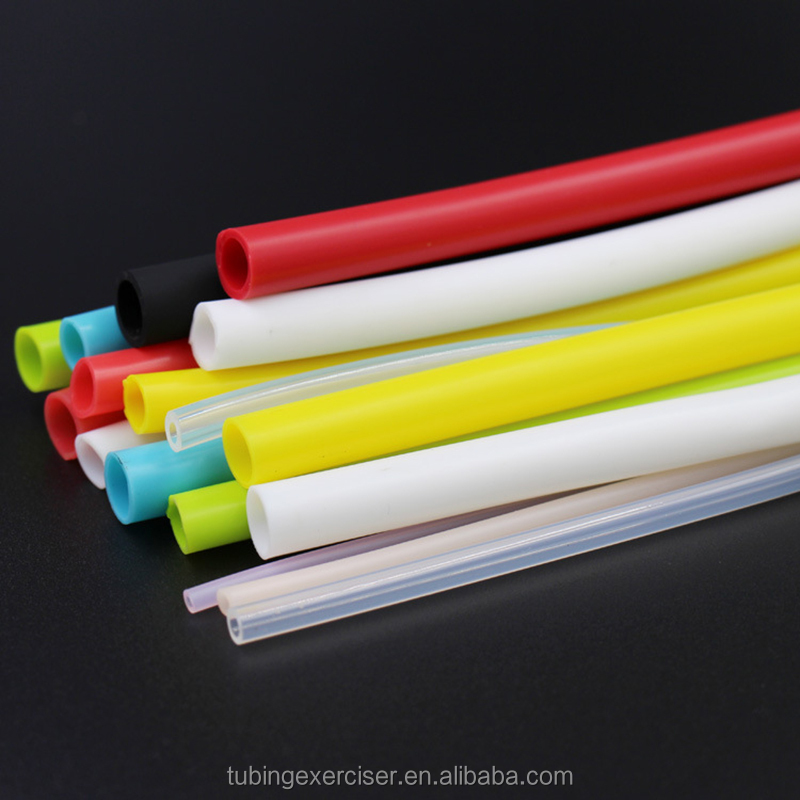 Thin wall flexible extrusion silicone rubber tube