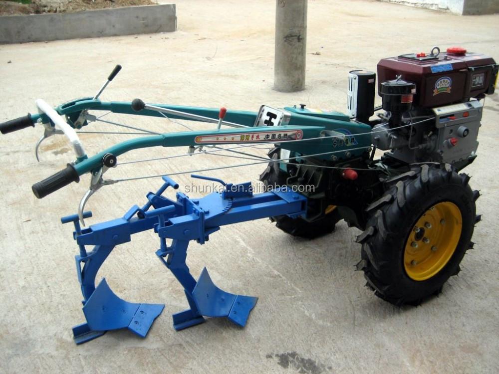 Tractor Tiller Product : Electric start tiller power walking tractor