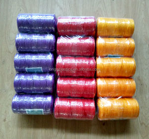 fishing net twine 3 strands TWISTED nylon string