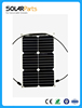 Customized High Efficiency Mono Semi Flexible Small Solar Panel 18W