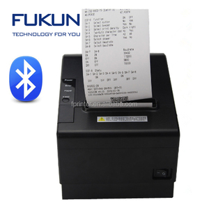 Shanghai Fukun Supermarket Pos System USB 80mm Thermal Printer with Auto Cutter