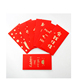 Hot Sale high Quality Cheap Custom Made Printed Gold Foil Chinese Lucky Red Envelopes