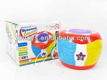 Baby 2014 Electric Russian Language Dance Drum Plastic Drum Toy with EN71 EN62115