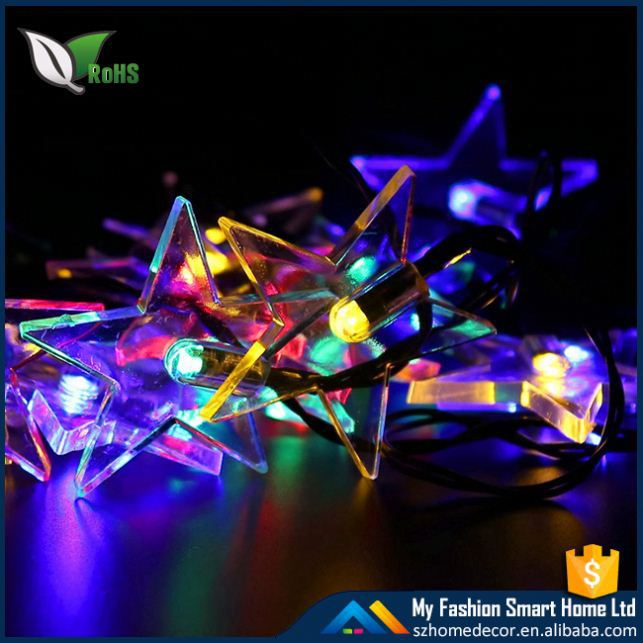 Peach Flower 50 LEDs Solar String Lights Outdoor Christmas Party Wedding Decoration Lighting Lamp Waterproof 6 Colors