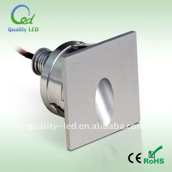 Mini Indoor Square Recessed Led Wall Lights