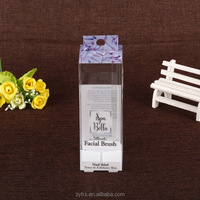 Gift & Craft use clear plastic bottle packaging box for candle