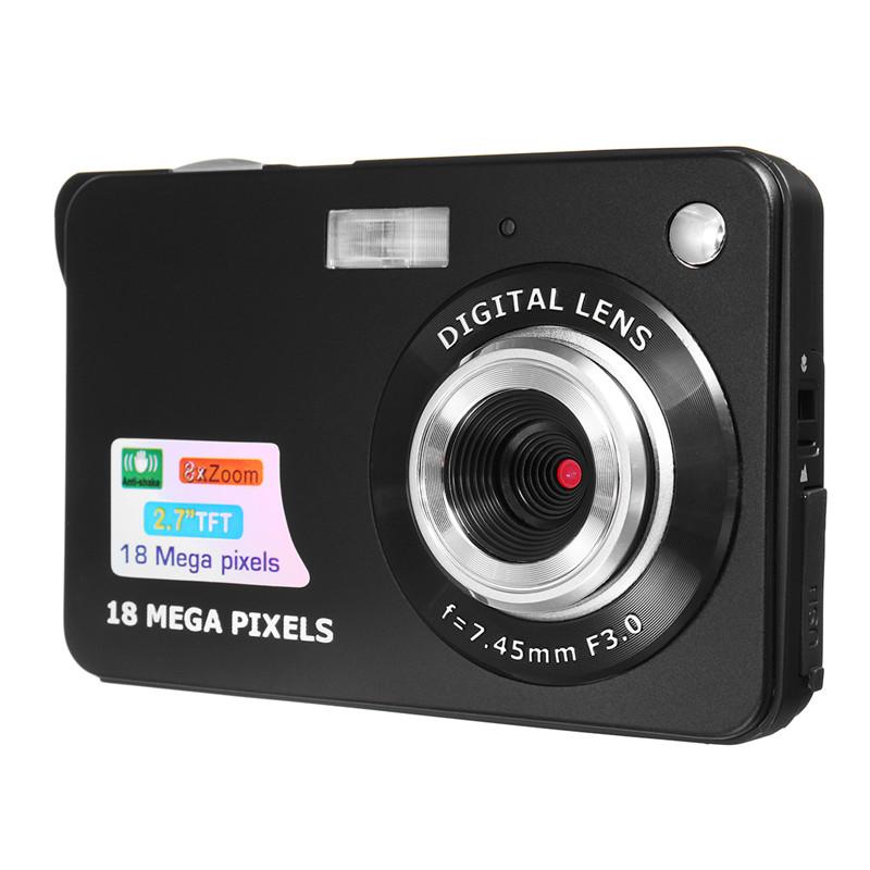 """Portable Mini Caméra 2.7 """"720P 18MP 8x Zoom TFT LCD HD Appareil Photo Numérique Caméscope DV Anti-secouer Photo Pour Enfants Cadeau"""