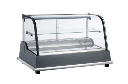 185L Quality Guarantee Curve Glass Cake Display Cooler