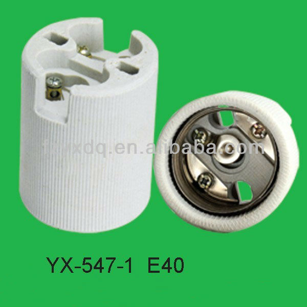 Yx-547-1 Porcelain Lampholder E40