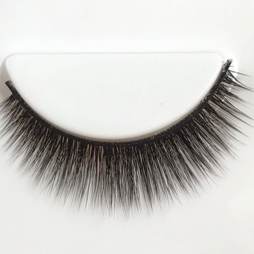 hot sale 3D fiber glue lashes false eyelashes manufacturer indonesia with chepest price