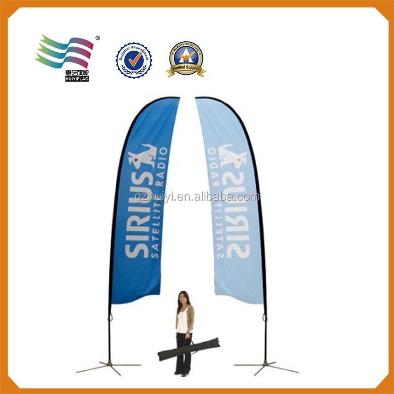 Outdoor Sport Promotional Feather Flag Pole