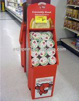 back to school coffee promotion items floor stand counter top display school bus corrugated cardboard stand display