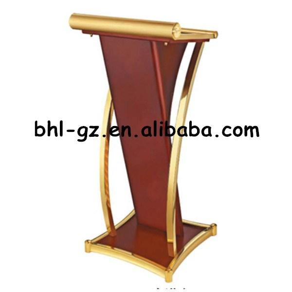 Guangzhou muebles del hotel proveedores mayoristas madera podio madera atril discurso tribuna - Muebles atril ...