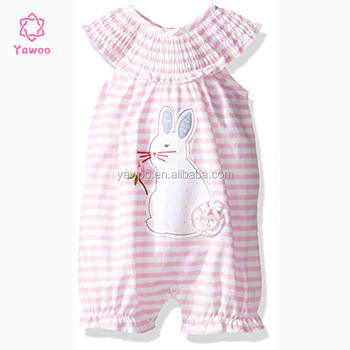 403943709408 Yawoo easter holiday wear cute rabbit pattern infant toddler cotton ...